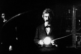 Mark-Twain-Nikola-Tesla-Laboratory-1894