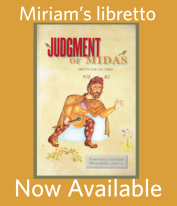 Judgment of Midas libretto book