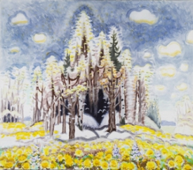 "Burchfield's ""Early Spring,"" 1966-67"