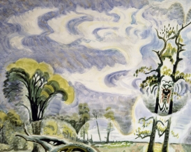 "Burchfield's ""Midsummer Caprice"" (detail), 1945"